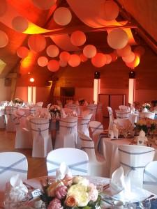 prestation mariage Restaurant des pins à Quelneuc 30/05/2015